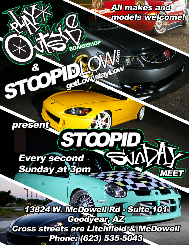STOOPIDsunday flyer