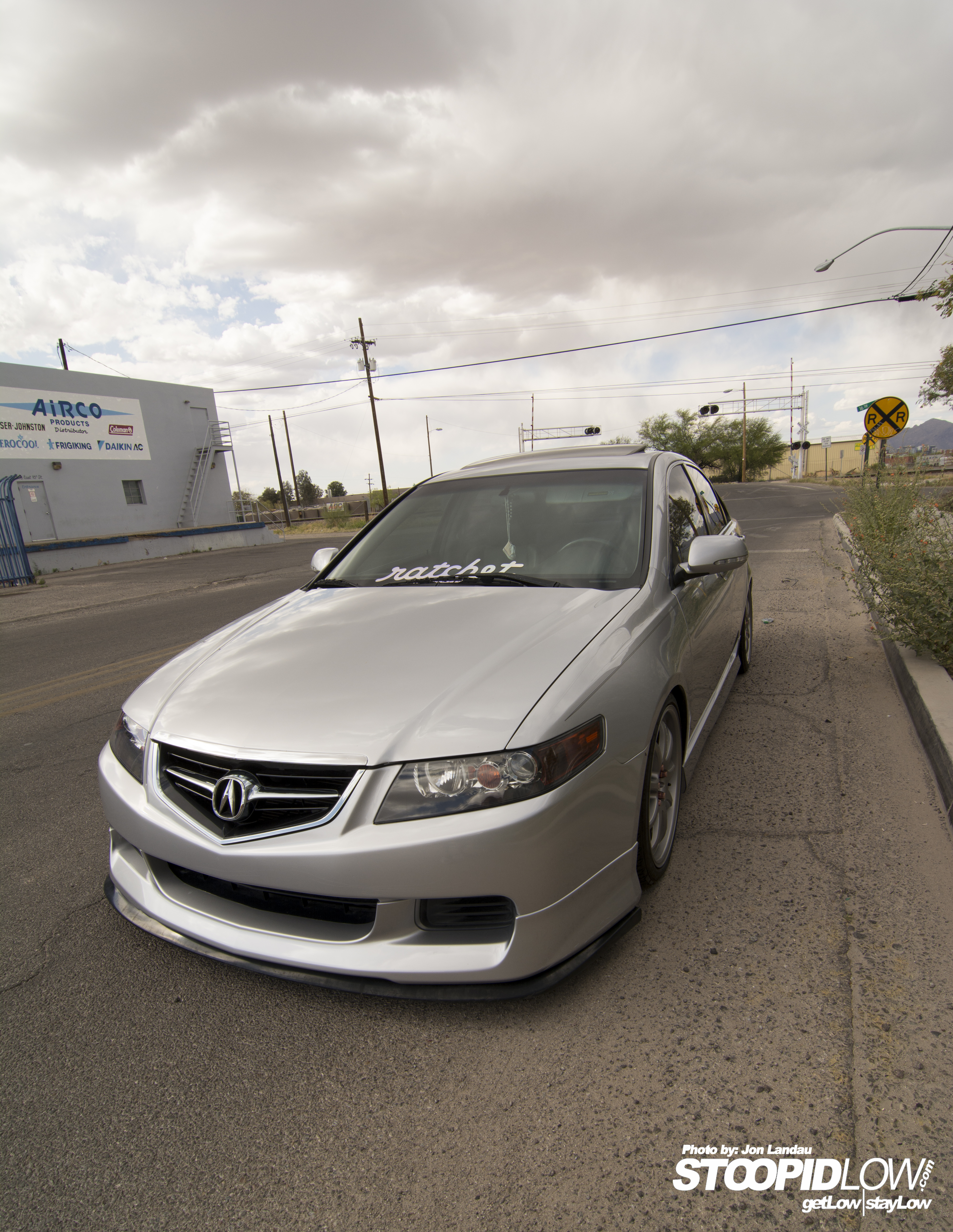 Straight to the point  Chris's '05 Acura TSX    StoopidLow