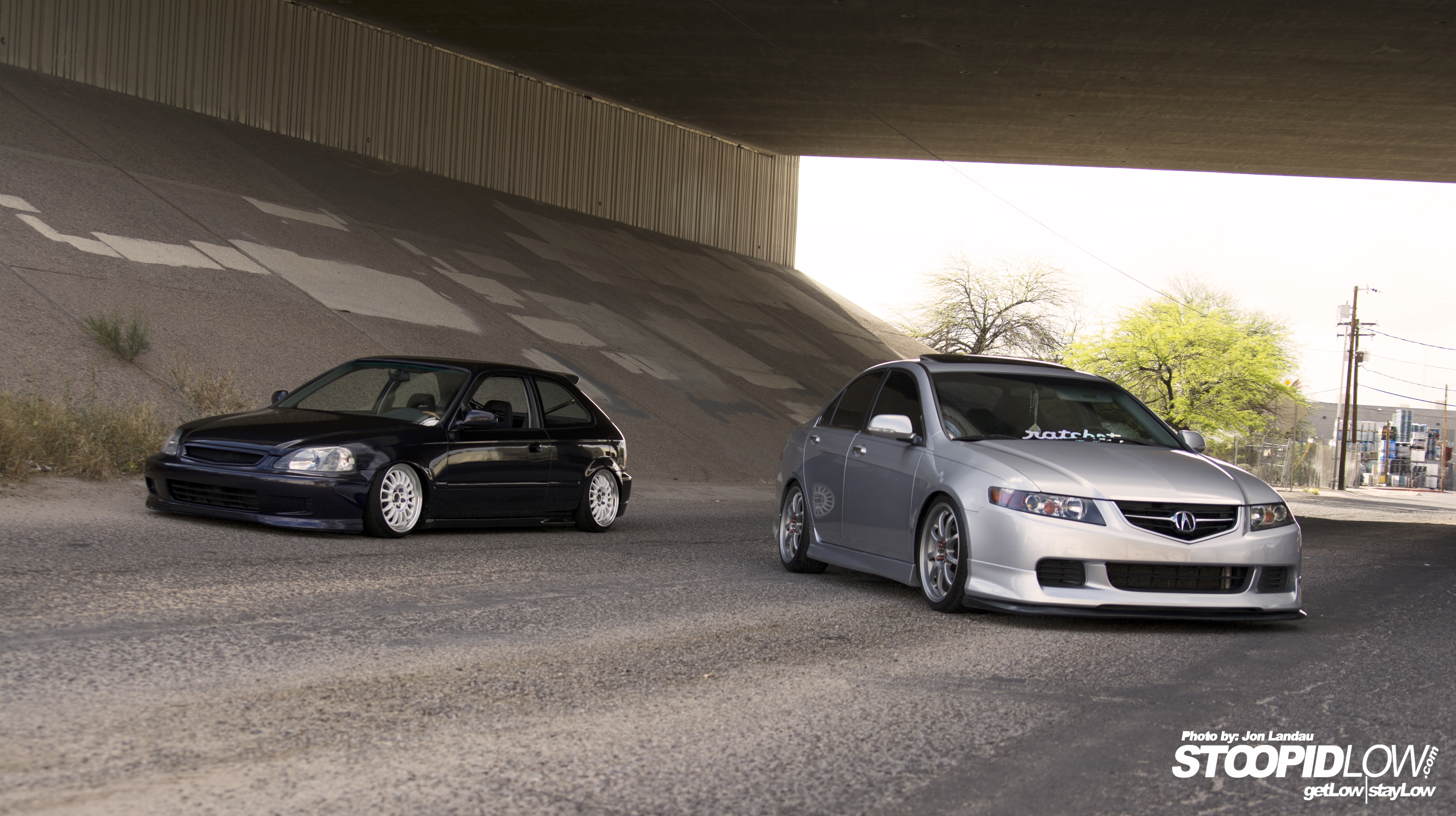 Straight To The Point Chriss Acura TSX StoopidLow - Acura tsx mods